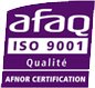 afaq ISO9001 Certification